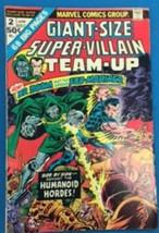 GIANT-SIZE SUPER-VILLAIN TEAM-UP #1 (1975) Marvel Comics VG+ - $9.89