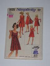 Simplicity 8125 - Classic Walk-Away Dress circa 1969  Size 12-14 & Resiz... - $11.99