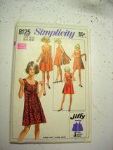 Simplicity 8125 - Classic Walk-Away Dress circa 1969  Size 16-18 & Resiz... - $11.99