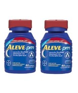 Aleve PM Easy Open Cap Pain Reliever, Sleep Aid... - $35.59