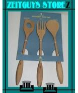 China Towne Michael Graves Beech Wood Utensils new - $24.00