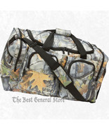 "25"" Weather-Resistant Tree Camo Hunting Tote Bag Range Gear Carry On Ove... - $41.89"
