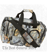 "18"" Weather-Resistant Tree Camo Hunting Tote Bag Range Gear Carry On Ove... - $36.40"