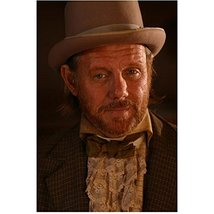 Deadwood Willam Sanderson as E.B. Farnum in brown jacket and hat 8 x 10 ... - $7.95