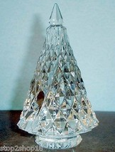 Baccarat Noel Diamant Diamond Fir Christmas Tree - Clear Crystal 2807390 New - $324.90