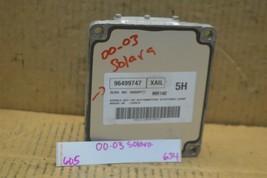 04-06 Chevrolet Aveo AT Engine Control Unit ECU 96499747 Module 634-6D5 - $145.99