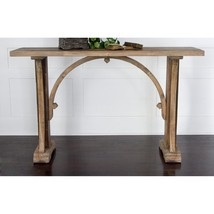 RUSTIC Arched FARMHOUSE Salvaged Style WOOD Sof... - $608.85