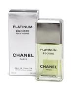 CHANEL PLATINUM EGOISTE (M) EDT 100ML - $45.00