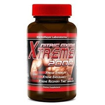 Maritzmayer Lab Nitric Oxide Xtreme Muscle Growth Supplement 90 Capsules... - $12.75