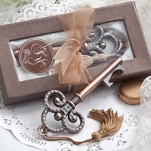 60 Vintage Skeleton Key Bottle Opener Wedding Favor Reception Gift Party Classic - $108.90