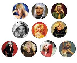 BLONDIE Debbie Harry pin pinback button BADGE Magnet KEYCHAIN SET 2a - $5.50+