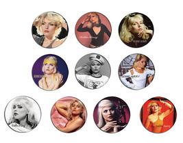 BLONDIE Debbie Harry pin pinback button BADGE Magnet KEYCHAIN SET 2b - $5.50+