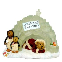 "Boyds Bearstone  "" Eskimo Joe w/ Willy & Chilly"" #C27612 -QVC-2E- NIB- R... - $49.99"