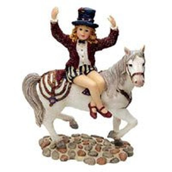 "Primary image for Boyds Dollstone  ""Claire Marie on Starr..Circus Dreams""  #3569-1E- NIB-  Retired"