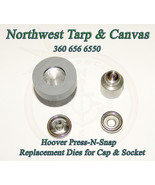 Press-N-Snap Tool Replacement Dies, Hoover Brand, Cap & Socket - Ships f... - $49.39