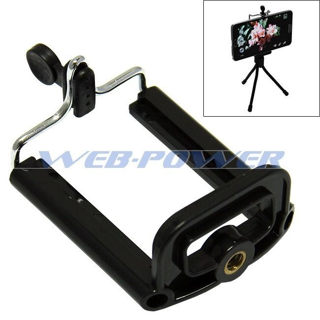 Tripod / Monopod Mount for Smartphones Samsung Galaxy S3 S4 S5 Note 2 3 HTC One