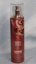 Bath & Body Works Warm Vinalla Sugar Diamond Shimmer Mist Fragrance Spra... - $21.84