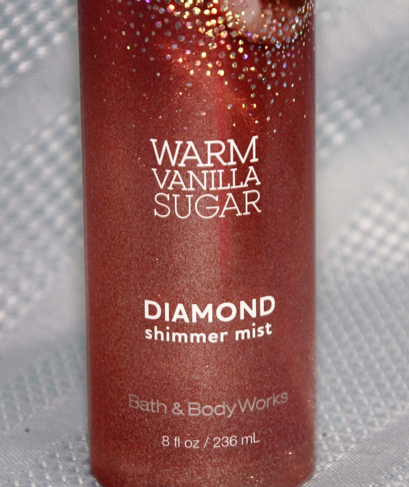 Bath & Body Works Warm Vinalla Sugar Diamond Shimmer Mist Fragrance Spray 8 oz.