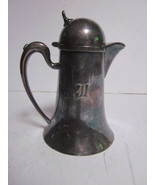 VINTAGE WILCOX SILVER PLATE CO #N41 TALL MILK CREAMER PITCHER - £7.62 GBP