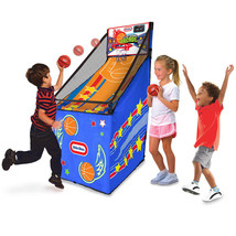 """Little Tikes 57.5"""" x 36"""" x 19"""" Easy Score Arcade with 2 Basketballs~Durable - $53.22"""