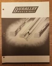 Vintage 1950s Duralloy Mouldings Lithographiée Catalogue & Prix Liste - $21.94