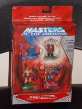 2002 Masters Of The Universe Heroes vs Villains Gift Pack New In The Package - $29.99