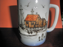 fishing boat -  shack  -  light house ,  coffee... - $11.49