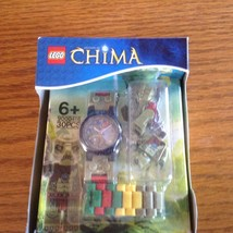 "LEGO Kids' 9000409 ""Legends of Chima Crawley"" Watch with Minifigure new nip - $10.40"