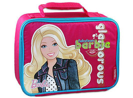 BARBIE LUNCHBOX-BY THERMOS CO.INCLUDES A SANDWICH BOX! - $11.10