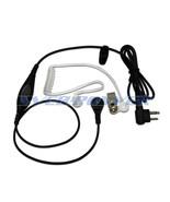 Surveillance 1-Wire Headset Earpiece Waterproof PTT Mic K1 KENWOOD 2-Pin... - $9.79