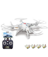 4 Blade RC Heli Quadcopter Drone with Wifi HD V... - $89.98