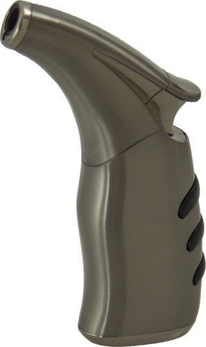Fujima Adjustable Flame Butane Refillable Cigar Jet Torch Lighter FT8GM