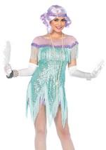 Trixie Leg Avenue™ Foxtrot Flirt Flapper Costume Complete w/Pastel Wig/S... - $149.50