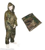 FISHING HUNTING CAMO WATERPROOF CLOTHING JACKET... - $21.52