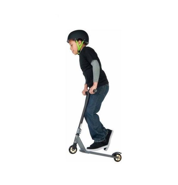 Stunt Scooter Kick Ride Trick Huffy Aluminum Deck Heavy Duty Sport Freestyle