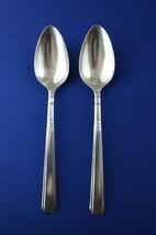 2 Wm A Rogers Capri 1935 Serving Spoons - $14.85