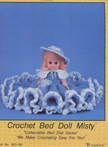 "Bed Doll Misty 13.5"" Doll Outfit to make Crochet PATTERN 30 Days to Shop & Pay! - $6.27"