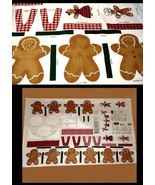 Daisy Kingdom Ginger Garland, Gingerbread Guys,... - $9.77