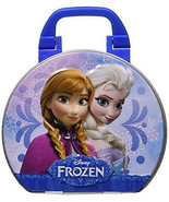 Disney'S Frozen Collectible Suitcase Tin With E... - $8.27