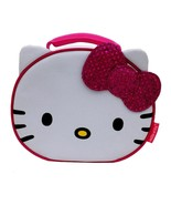 HELLO KITTY SANRIO w/Pink Sparkly Bow Lead-Free... - $9.89