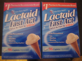 Lactaid Fast Act twice as fast as ultra 2-96 Ca... - $45.79