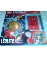 Ninjago LEDLite NiteLite Lego Night Light Red Brick - $29.39
