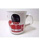 London Mug English Bobbie Made In England White with Red Black Charming Bobbies - $18.69 CAD