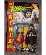 1996 Marvel X-Men Ninja Force  Psylocke Figure New In The Package - $23.99