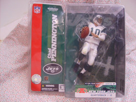 NFL Chad Pennington Jets QB Football Toy Figure - $14.99