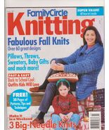 Family Circle  Knitting Magazine Fall 1997 Adul... - $5.99
