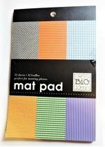 Mambi Mat Pad, Checks, Houndstooth, Stripes, Dots, 32 Sheets