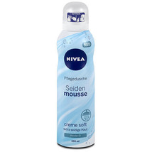 NIVEA Shower SILK Mousse -200ml-Made in Germany - $9.75