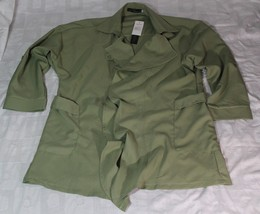 Zanzea Collection Women Jacket/cape Light Green XXL Size 19 NWT Adjustable - $29.99