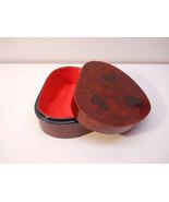 Heart Wood Box with Felt & Floral design Box41 - $19.99